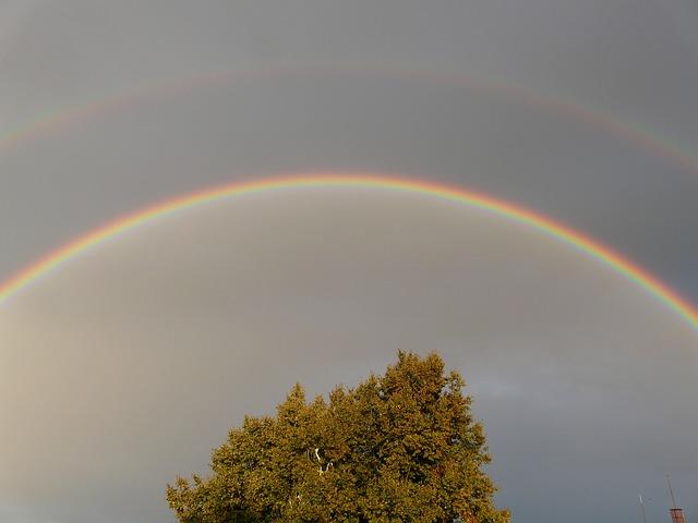 double-rainbow-61774_640